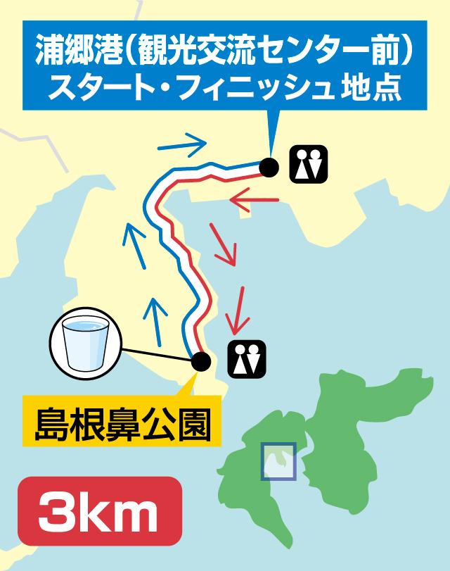 コースマップ3km